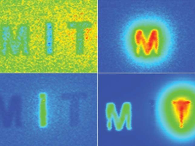 """New optical imaging system could be deployed to find tiny tumors: Near-infrared technology pinpoints fluorescent probes deep within living tissue; may be used to detect cancer earlier. <a href=""""http://news.mit.edu/2019/near-infrared-optical-imaging-system-small-tumors-0307"""" target=""""_blank""""><strong>Read more.</strong></a></span>"""